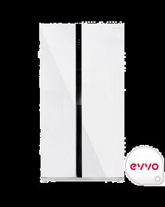 Frigorífico Americano EVVO F90W Glass
