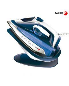 Fagor Plancha Inalámbrica 2 En 1 Con  Base - 2600 W – Azul