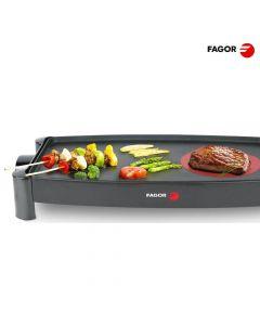 Fagor Plancha Antiadhernete 2200 W Con Hot Zone - 45,7 X 25,4 Cm Placa