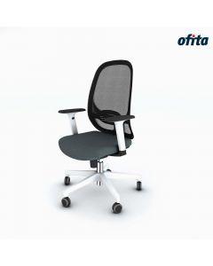 Silla Giratoria Like Ofita Blanco - CF_LK_02_BR