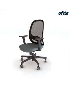 Silla Giratoria Like Ofita Negro - CF_LK_01_BR